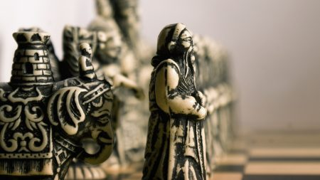 chess, figures, board