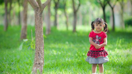 child, girl, summer