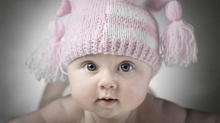 child, hat, baby