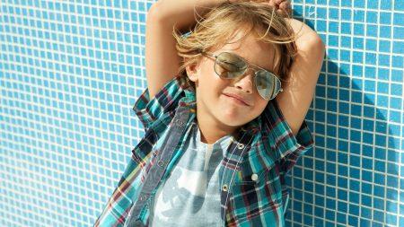 child, stylish, sunglasses