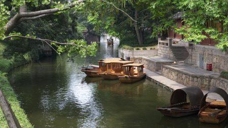 china, dock, boat