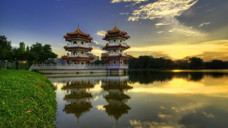 china, structures, architecture