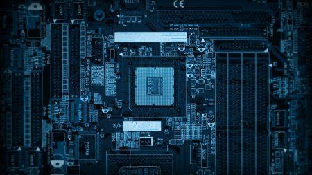 chip, computer, microchip