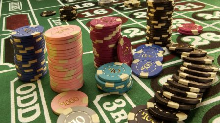 chips, casino, table