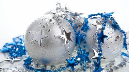 christmas decorations, balls, stars