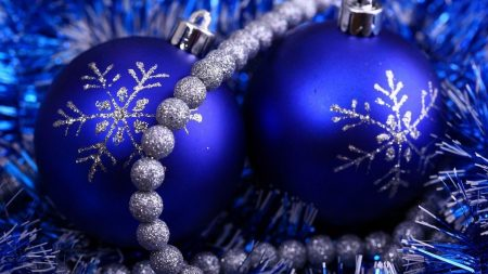 christmas decorations, tinsel, attributes