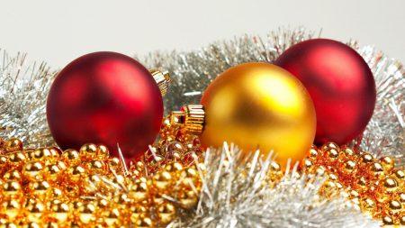 christmas decorations, tinsel, ornaments