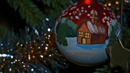 christmas toy, ball, design