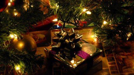 christmas tree, christmas decorations, garland