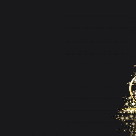 christmas tree, lights, new year