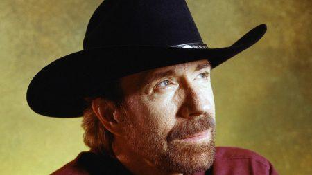 chuck norris, actor, hat