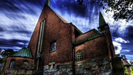 church, masonry, building