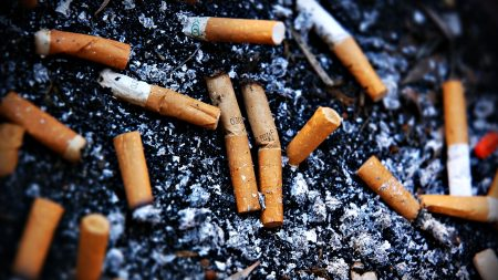 cigarette, butts, dirty
