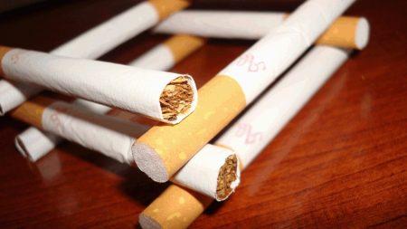 cigarettes, white, yellow
