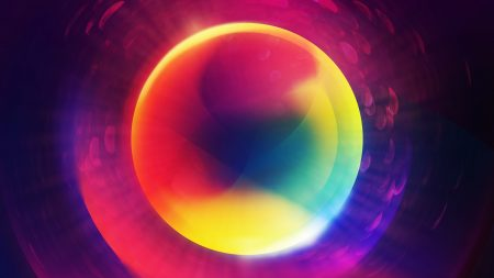 circle, colorful, shape