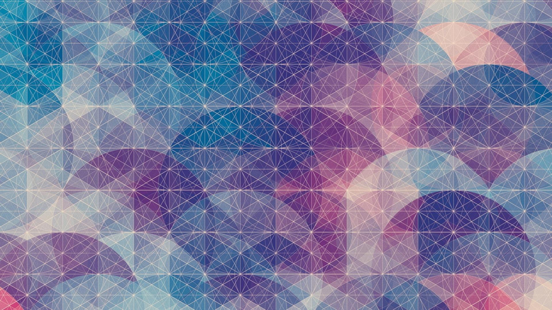 circles, background, grid