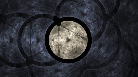 circles, form, light