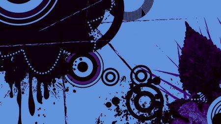 circles, lines, blotches
