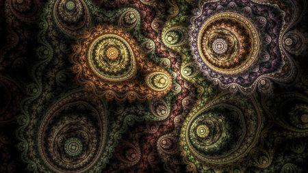 circles, patterns, rotation
