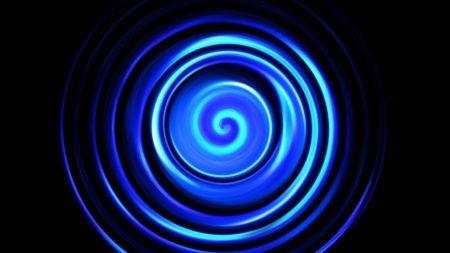 circles, rotation, shadow