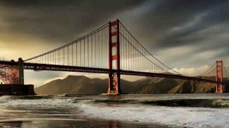 city??, bridge, sky