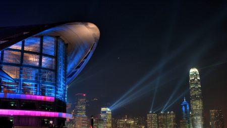 city, building, light