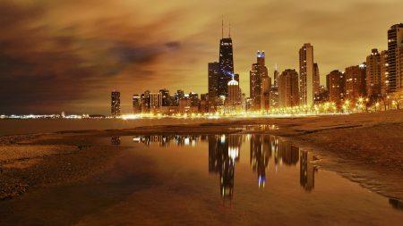city, ??chicago, night