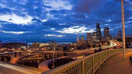 city, cityscape, bridge