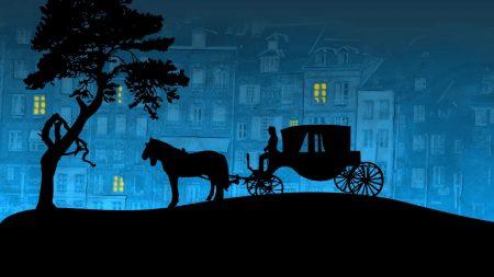 city??, coach, horse