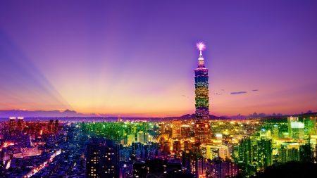 city??, evening, night