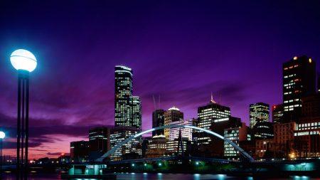 city, light, lamp