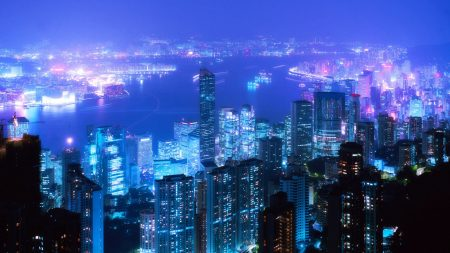 city ??lights, light, night
