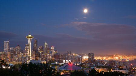 city??, night, buildings