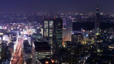 city??, night, skyscraper