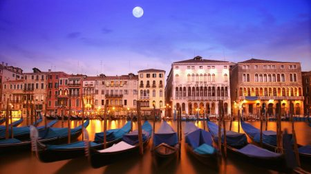 venice, italy, a city on the water