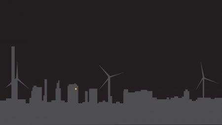 city, ??silhouette, minimalism