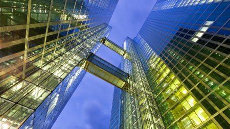 city, skyscraper, glass