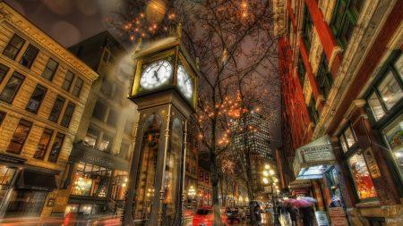 city, street, night