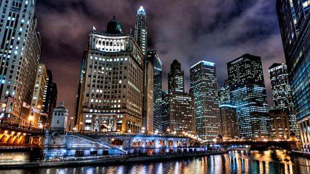 city, usa, chicago