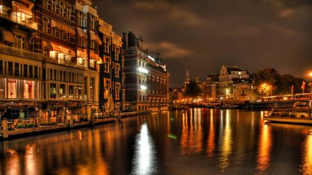 city, venice, river