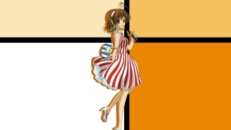 clannad, girl, dress