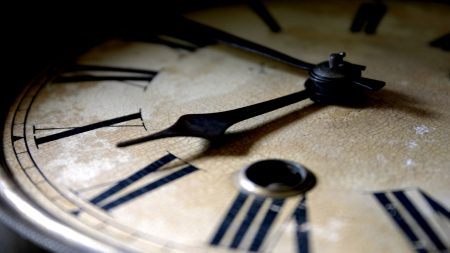clock, hands, dial