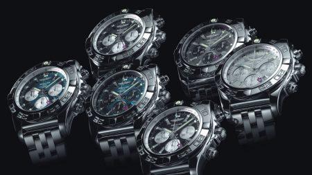 clock, watch, breitling