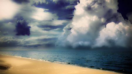 clouds, fluffy, volume