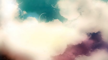 clouds, light, pale