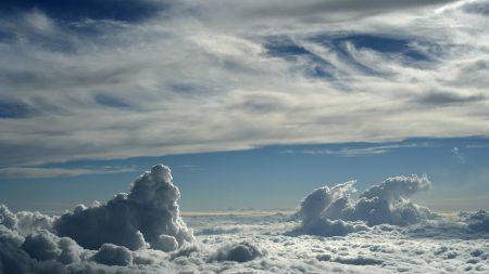 clouds, sky, summer