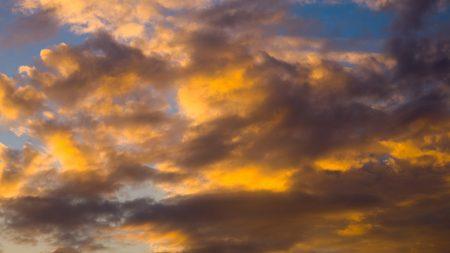 clouds, sky, sunlight