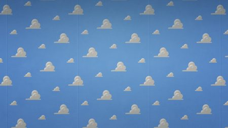 clouds, wall, background