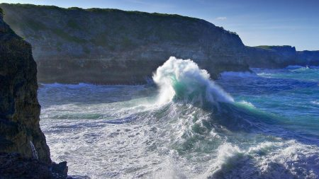 coast, ocean, wave
