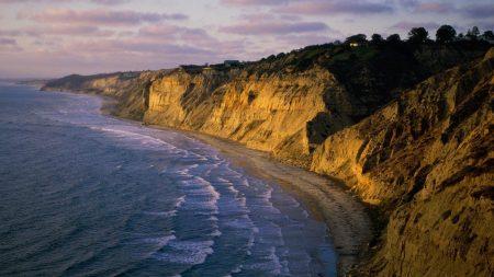 coast, rocks, waves